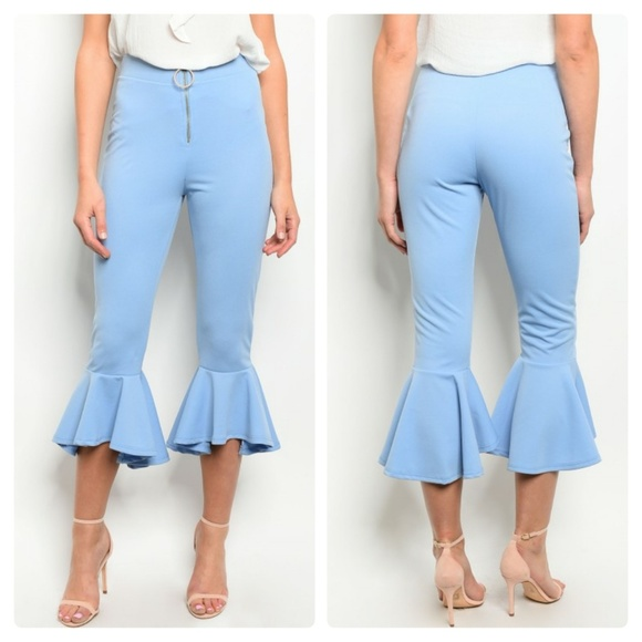 859343667ef0f Pants | Closet Closing Light Blue Capri | Poshmark